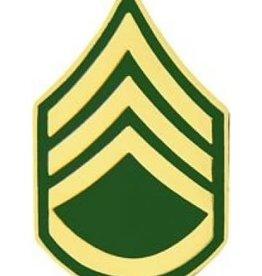 "MidMil Army Staff Sergeant (E-6) Pin 1"""