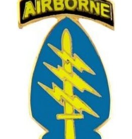 """MidMil Army Special Forces Arrowhead """"Airborne"""" Pin 1"""""""