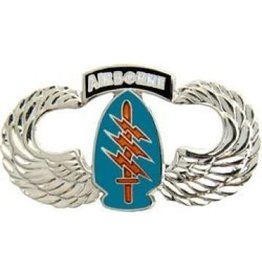 """MidMil Army Special Forces Airborne Wings Pin 1 1/2"""""""