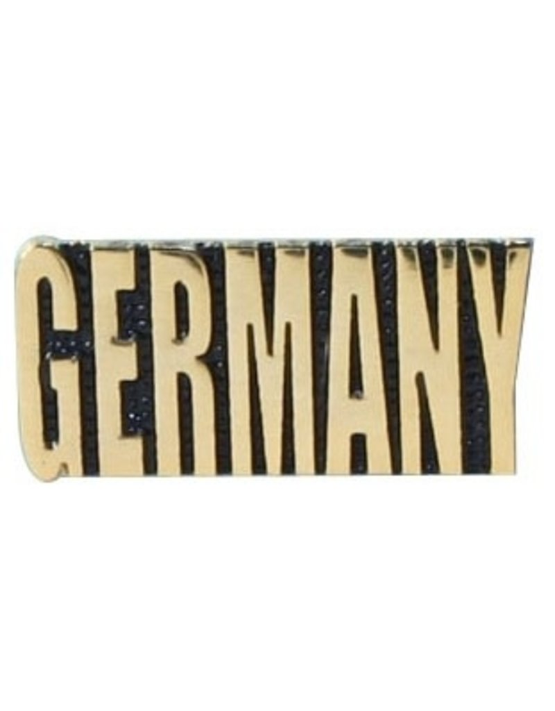 """MidMil Germany Text Pin 1"""""""