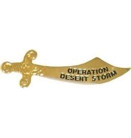 "MidMil Operation Desert Storm Sword Pin 1 3/4"""