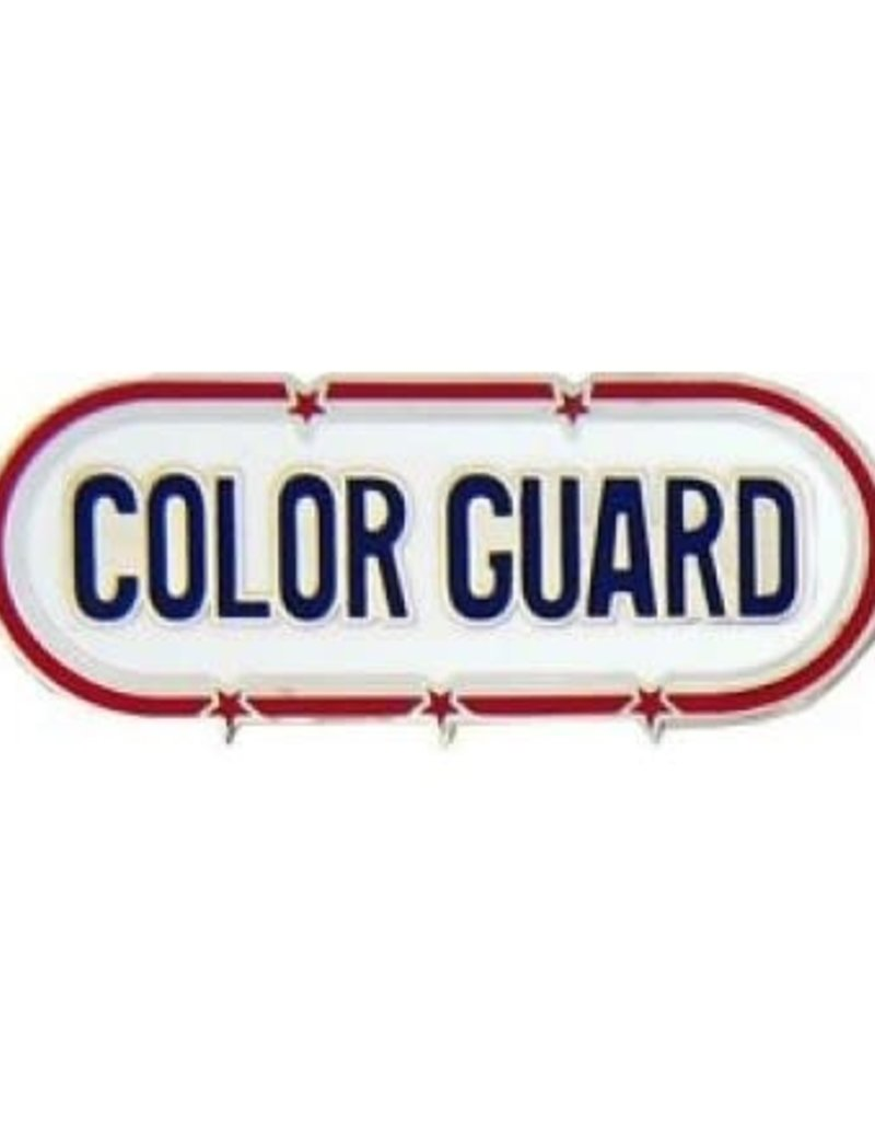 """MidMil Color Guard Oval Pin 1 1/2"""""""