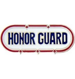 "MidMil Honor Guard Text Pin 1 1/2"""