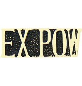 "MidMil EX-POW Text Pin 1 1/8"""