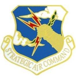 "Air Force Strategic Air Command (SAC) Emblem Pin 1 1/2"""