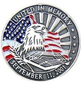 """MidMil September 11, 2001 Pentagon Memorial Pin 1"""""""