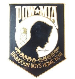POW*MIA Large Pin 1 1/2""