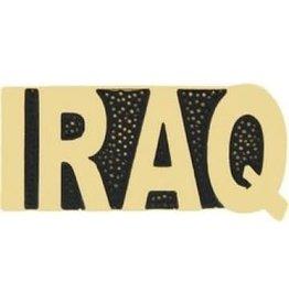 """MidMil Iraq Text Pin 1"""""""