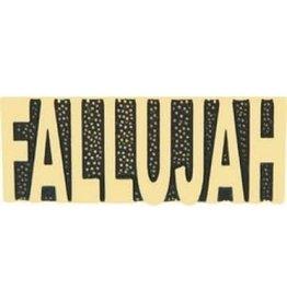 """MidMil Fallujah Text Pin 1 1/4"""""""