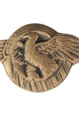 "MidMil Honorable Discharge ""Ruptured Duck"" Pin 5/8"""