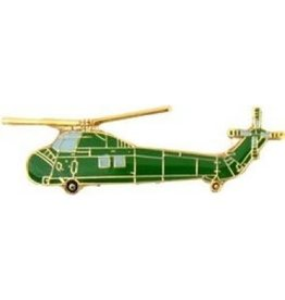 MidMil Navy Helicopter UH-34 Sea Horse Pin 1 1/2""