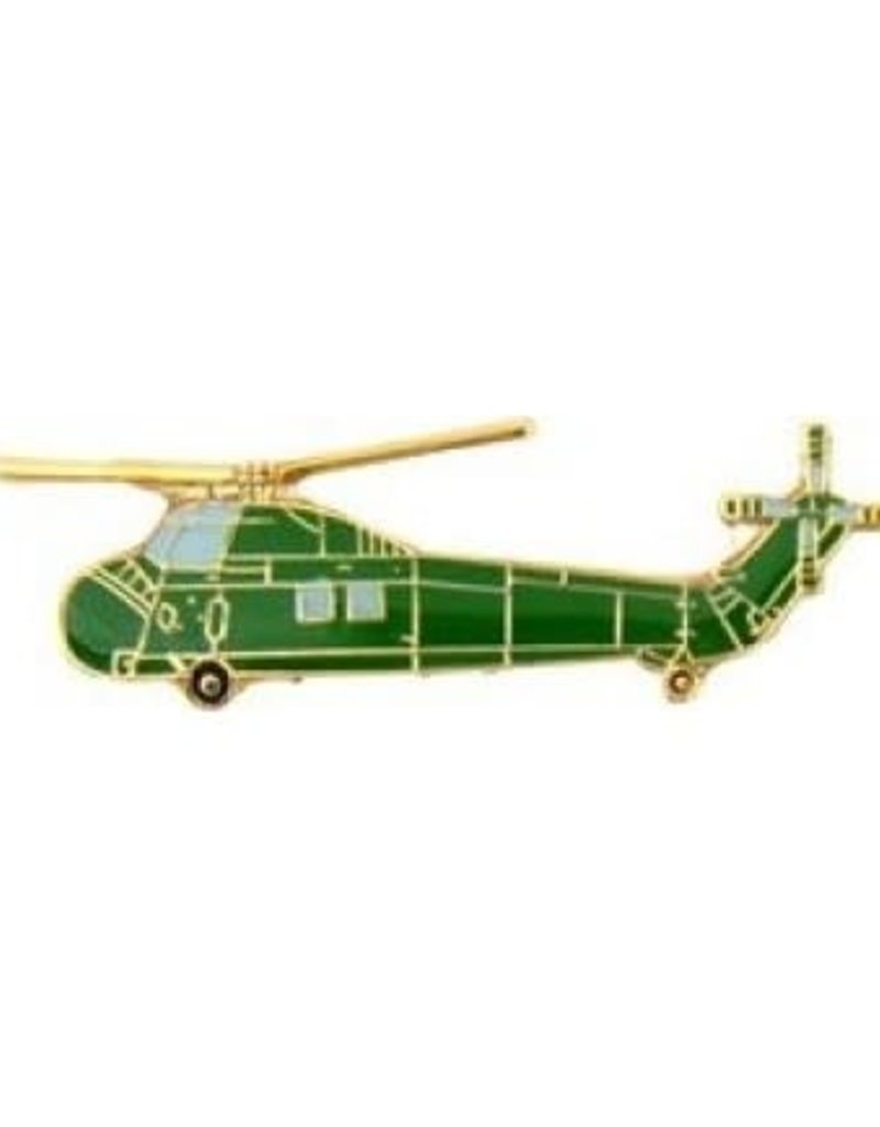 """MidMil Navy Helicopter UH-34 Sea Horse Pin 1 1/2"""""""