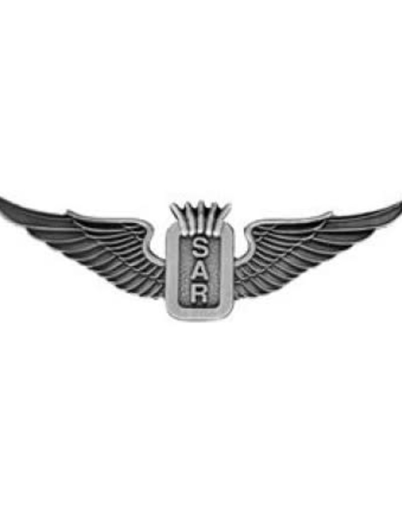 MidMil Navy Search and Rescue (SAR) Wings Pin 3""