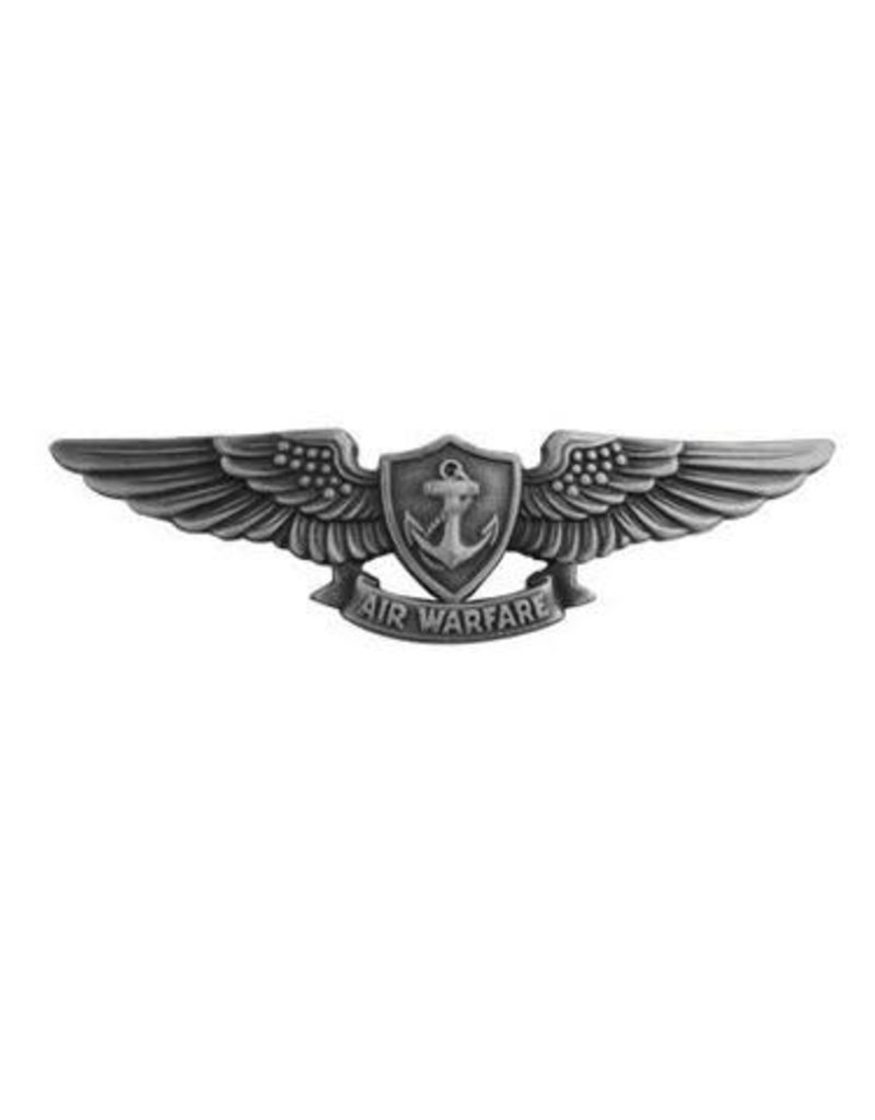 "MidMil Navy Aviation Warfare Specialist Badge Pin 1 1/2"""