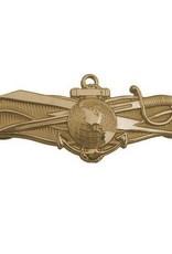 "MidMil Navy Information Dominance Warfare Badge Pin 1 3/8"""