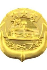 MidMil Navy River Patrol Force Craft Badge Pin 3/4""