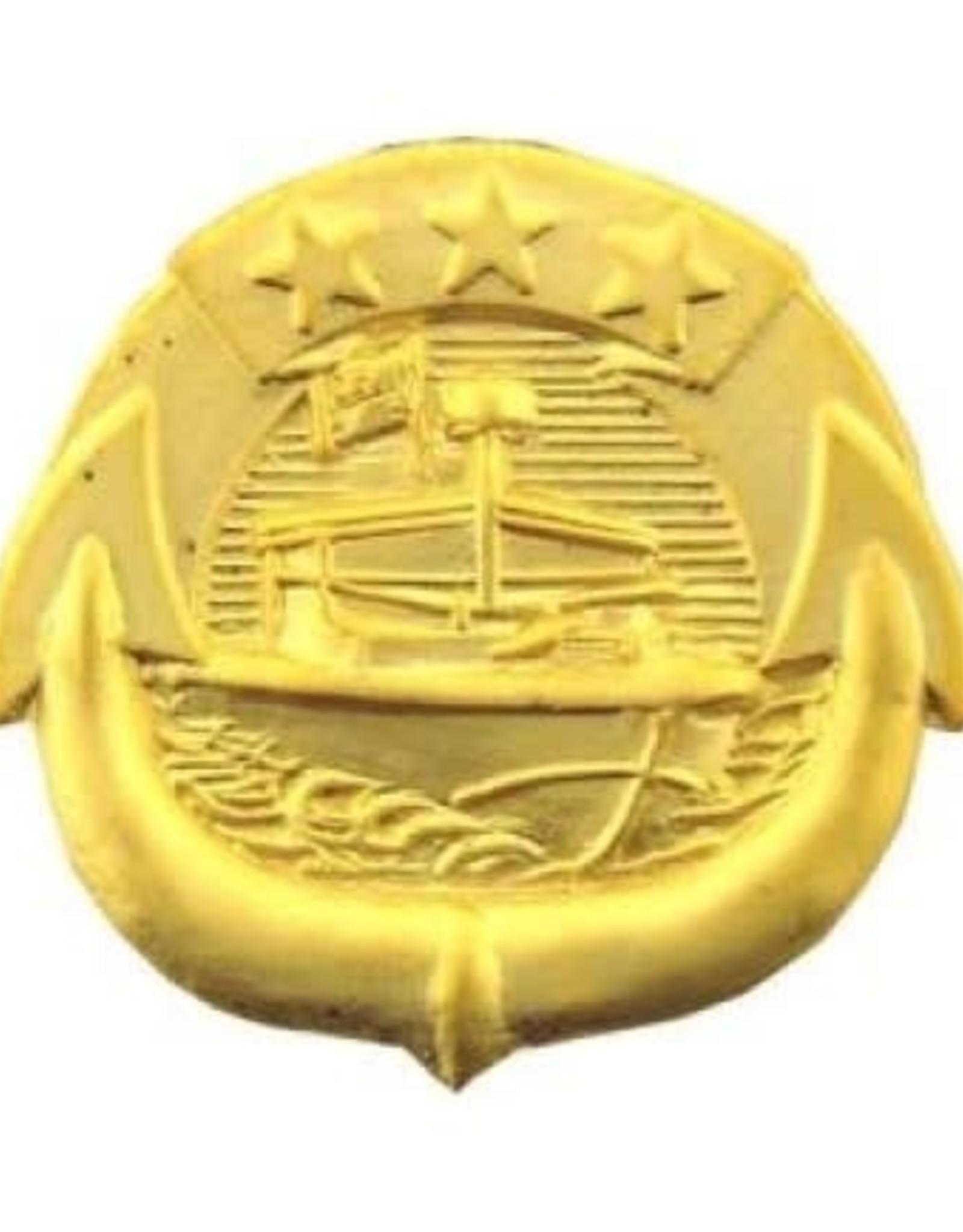 "MidMil Navy River Patrol Force Craft Badge Pin 3/4"""