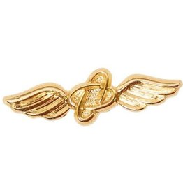 """MidMil Navy Aviation Electronics Rating Collar Device Pin 7/8"""""""