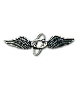 """MidMil Navy Aviation Electronics Rating Collar Device Pin 2 1/2"""""""