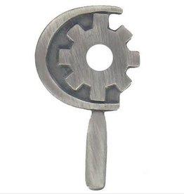 "MidMil Navy Machinery Repairman Rating Pin 1 1/8"""
