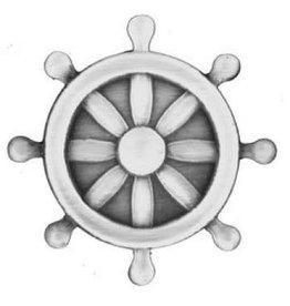 "MidMil Navy Quartermaster Rating Pin 1"""