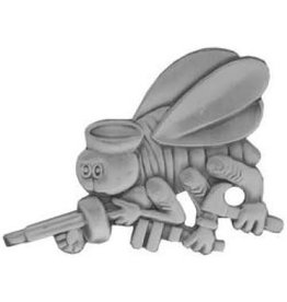 """MidMil Navy Seabees Insignia Pin 1 1/4"""""""