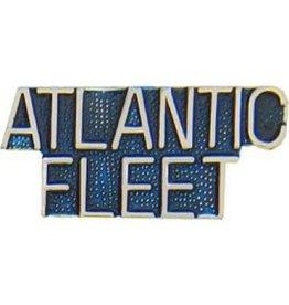 "Atlantic Fleet Text Pin 1 1/4"""