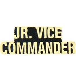 MidMil Jr. Vice Commander Text Pin 1 1/4""