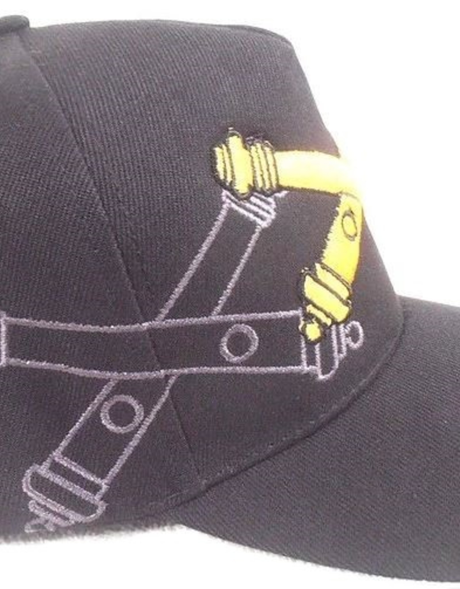 MidMil Army Field Artillery Hat with Emblem and Shadow Black
