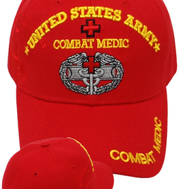 MidMil Army Combat Medic Hat with Caduceus and Red Cross