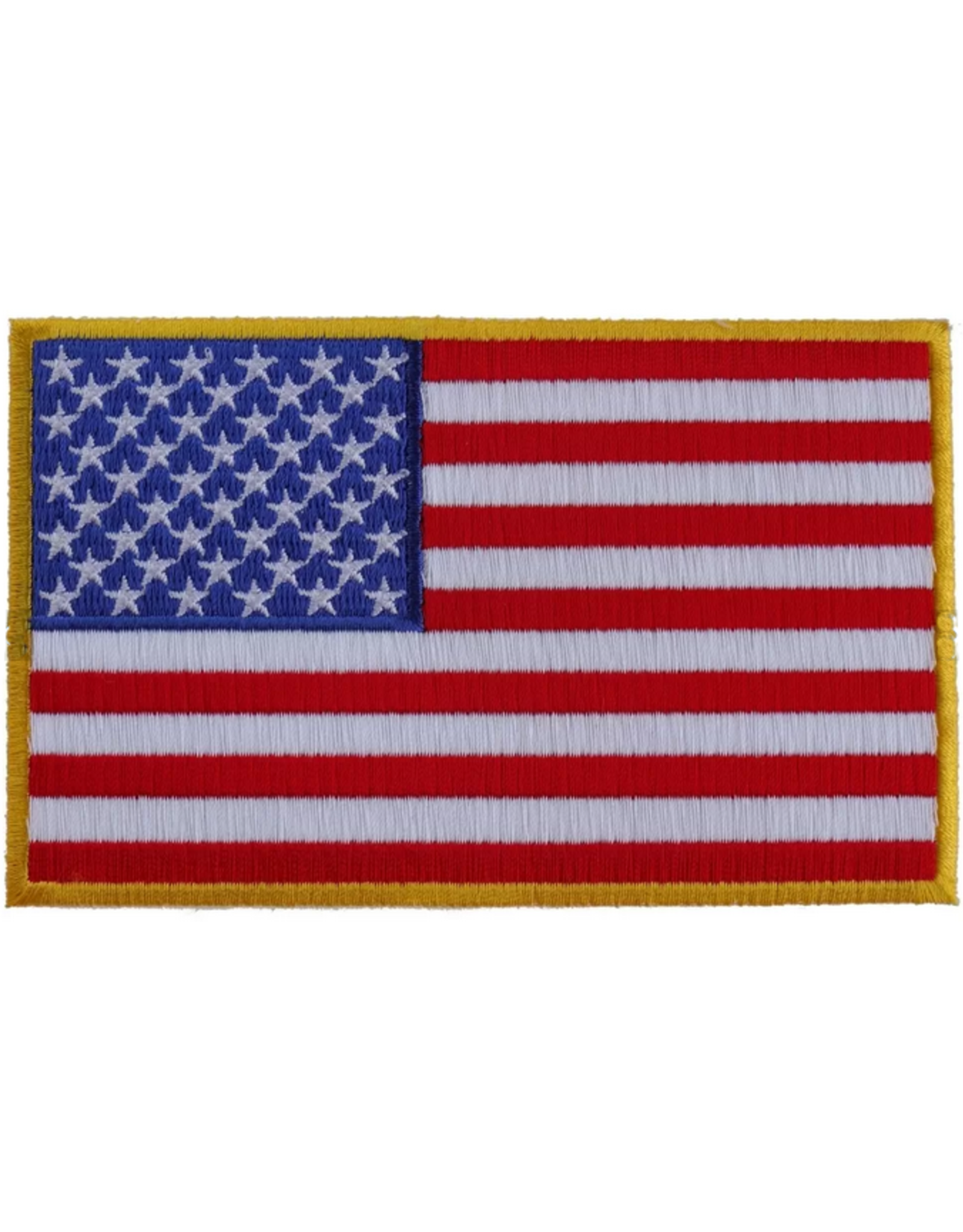 Embroidered American Flag Patch 5 X 3 Midtown Military
