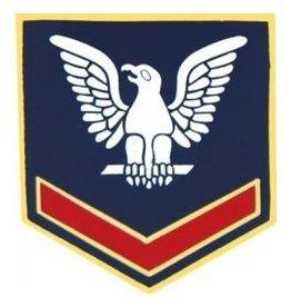 """Navy  Petty Officer 3rd Class (E-4) Pin 7/8"""""""