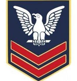 """Navy  Petty Officer 2nd Class (E-5) Pin 1"""""""