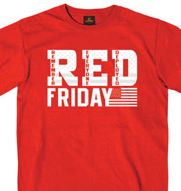 MidMil RED Friday Flag T-Shirt Red