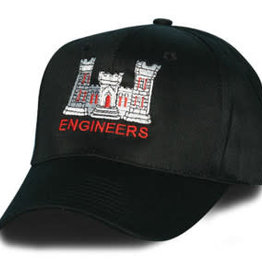 Army Corps of Engineers Hat Black