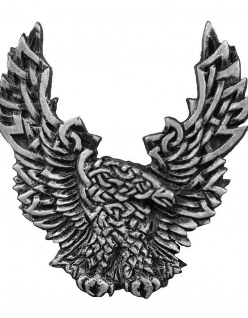 """MidMil Celtic Knot Eagle Pin 1 1/2"""""""