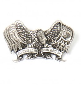 """POW*MIA Eagle All Gave Some, Some Gave All Pin 1 1/2"""""""