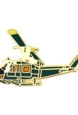 """MidMil Army Helicopter UH-1 Huey Pin 1 1/4"""""""