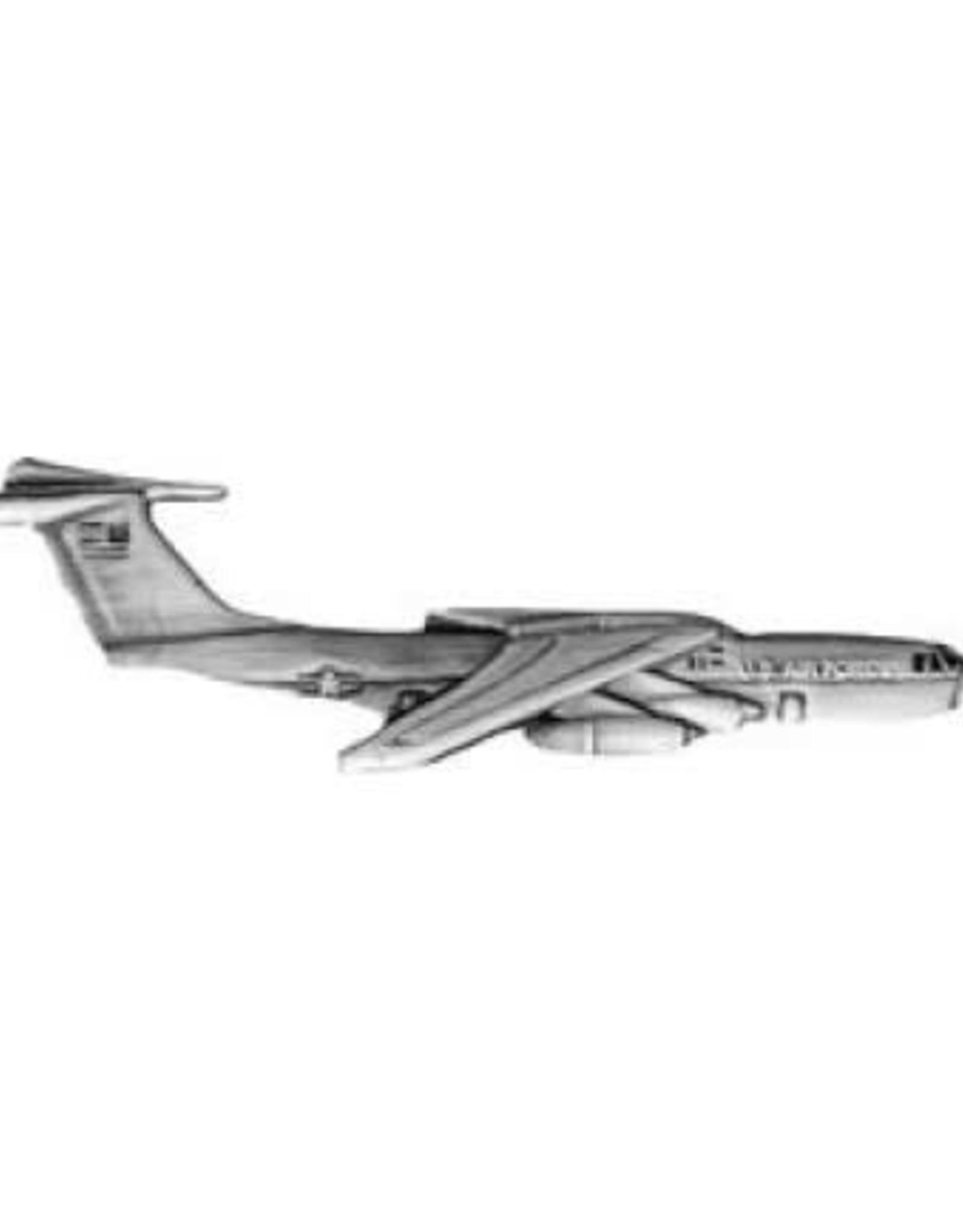 "MidMil C-141 Starlifter Pin 1 1/2"""