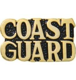 "Coast Guard Text Pin 1"""