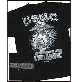 MidMil USMC Not as Lean, . . .T-shirt Black
