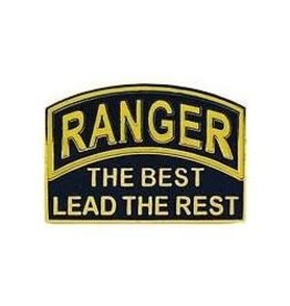 """MidMil Army Ranger """"The Best Lead The Rest"""" Pin 1"""""""