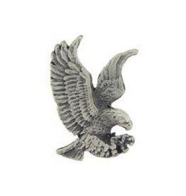 """MidMil Pewter Eagle Landing Pin 1"""""""