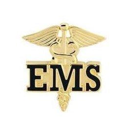 """MidMil EMS/EMT Caduceus Emblem Pin 1"""""""