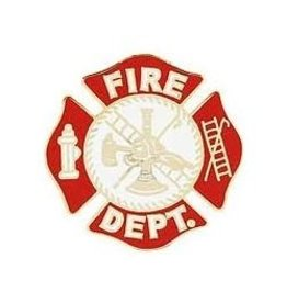 MidMil Fire Department Logo Pin 1""