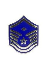 MidMil Air Force Master Sergeant (E-7) Rank Pin