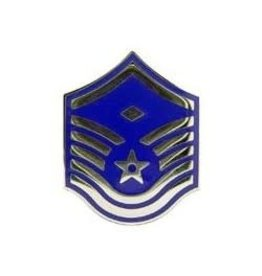 MidMil Air Force MSgt Rank Pin