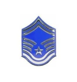 Air Force SMSgt Rank Pin