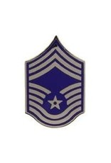 MidMil Air Force Chief Master Sergeant (E-9) Rank Pin