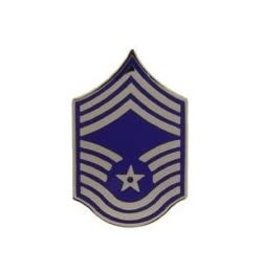 MidMil Air Force CMSgt Rank Pin